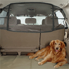 Pet net barrier for dogs